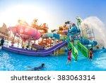 pattaya  thailand   dec 27 ... | Shutterstock . vector #383063314