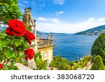 isola bella  lake maggiore     Shutterstock . vector #383068720
