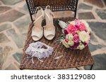 wedding decorations | Shutterstock . vector #383129080