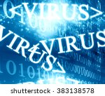 virus | Shutterstock . vector #383138578