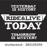 vintage quote made with open... | Shutterstock .eps vector #383150350