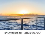 Beautiful Sunset On A Cruse...