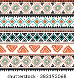 pattern of a dress | Shutterstock .eps vector #383192068