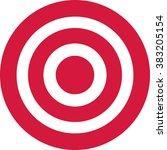red target | Shutterstock .eps vector #383205154