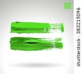 brush stroke and texture.... | Shutterstock .eps vector #383215096