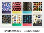 set of eight seamless pattern...