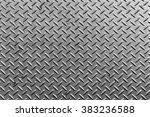 texture of silver metal plate | Shutterstock . vector #383236588