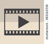 film strip  | Shutterstock .eps vector #383262538