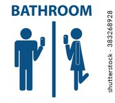 Bathroom Signs Eps vector images, illustrations and cliparts: classy bathroom signs