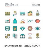 finance  money  banking ... | Shutterstock .eps vector #383276974