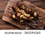 kebab   Shutterstock . vector #383294260