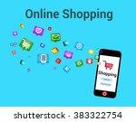 digital marketing and e...   Shutterstock . vector #383322754