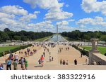 washington dc  usa sep 10 ... | Shutterstock . vector #383322916