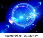 green nebula  wonderful deep... | Shutterstock . vector #38332459