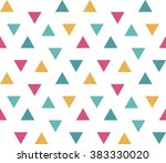 seamless abstract geometric... | Shutterstock .eps vector #383330020