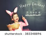 Happy Easter  Child Girl In...