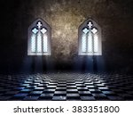 illustration of an abstract... | Shutterstock . vector #383351800