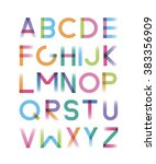 font is disappearing with...   Shutterstock .eps vector #383356909