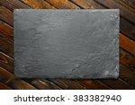 rough slate background | Shutterstock . vector #383382940