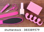 cosmetics and accessories for... | Shutterstock . vector #383389579