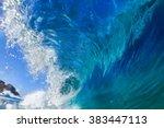 Beautiful Seascape. Big Surfing ...