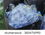 the recycle of water plastic...   Shutterstock . vector #383476990