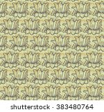 wallpaper in the style of... | Shutterstock .eps vector #383480764