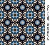 seamless pattern. vintage... | Shutterstock .eps vector #383497909