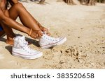 outdoor lifestyle close up of... | Shutterstock . vector #383520658