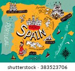 Map Of Spain Vector Free.Spain Vector Art Graphics Freevector Com