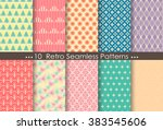 retro patterns  pattern... | Shutterstock .eps vector #383545606