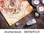 foretelling the future through... | Shutterstock . vector #383569114
