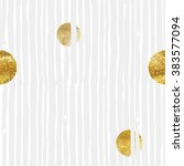 pattern of gold round  | Shutterstock .eps vector #383577094