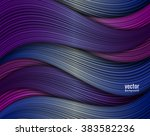 abstract waves  applique  shade ... | Shutterstock .eps vector #383582236