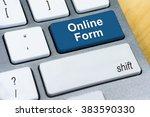 written word online form on...