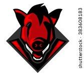 boar | Shutterstock .eps vector #383608183