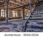 house on fire | Shutterstock . vector #383612026