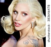 Lady Gaga At The 88th Annual...