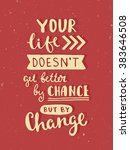 vector calligraphy. hand drawn... | Shutterstock .eps vector #383646508