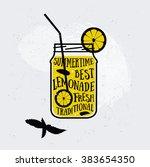 vector creative quotes card... | Shutterstock .eps vector #383654350