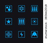 game set vector icons