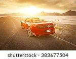 bonneville  utah  usa june 4 ... | Shutterstock . vector #383677504
