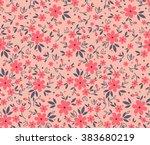 Cute Pattern In Small Flower....