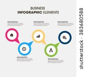 business infographics vector... | Shutterstock .eps vector #383680588