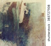 abstract grunge brush stroke...   Shutterstock . vector #383727508