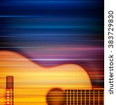abstract blur music background... | Shutterstock .eps vector #383729830