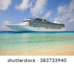 grand turk  turks and caicos... | Shutterstock . vector #383733940