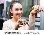 Positive Female Customer...