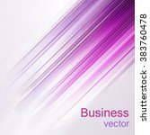 abstract purple lines vector... | Shutterstock .eps vector #383760478