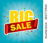 super sale poster  banner. big...   Shutterstock .eps vector #383773960